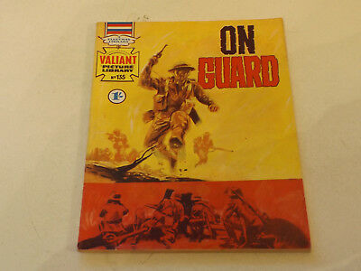 VALIANT PICTURE LIBRARY,NO 135,1969 ISSUE,V GOOD FOR AGE,48 yrs old,V RARE COMIC