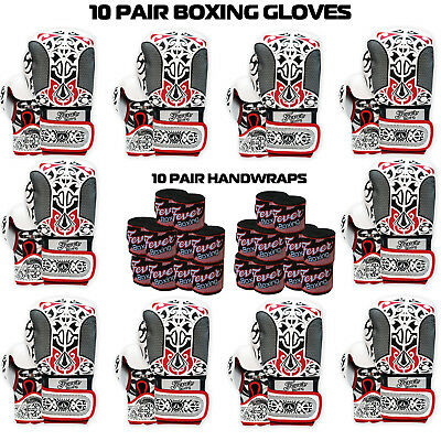 Boxing Gloves Sparring Punching Bag Muay thai Kickboxing Training 10 Pairs Deal