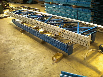 Apex Linpac Pallet Racking 2 Bays 4.8m high