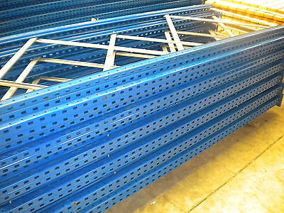 Used Esmena Pallet Racking 2 Bays Call NIGEL 07787 393603