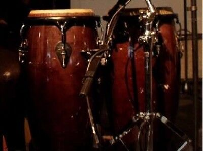 """AFRO CONGAS 13""""14"""" with BAGS!!"""