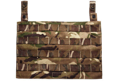 Genuine British Army Osprey MK4A IV MTP Molle Ops Panel Multicam Body Armour