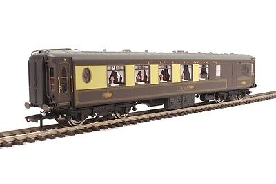 Hornby R4695 Pullman 3rd Class Parlour Brake - Lighted Lamps - Aus Warranty