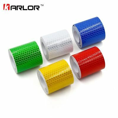 Reflective Tape 5*300cm Car Styling Safety Warning Material Motorcycle Cycling C