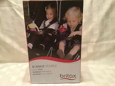 Britax B-Agile Double Child Tray for Stroller S910000, Black, G3