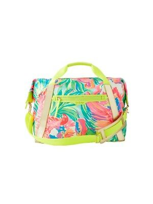 NWT Lilly Pulitzer Sunseekers Weekender Travel Tote Bag Serene Blue Paradise