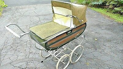 "Vintage 1960's BILT- RITE ""Park Avenue""  Baby Carriage, Pram- Pick up or ship"