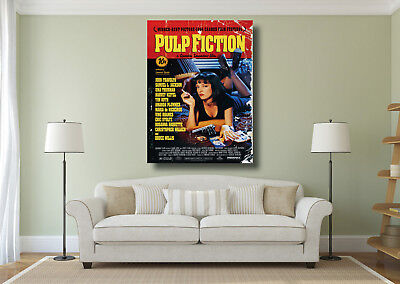 Pulp Fiction Classic Vintage Movie Giant Wall Art Poster Print - Various Sizes