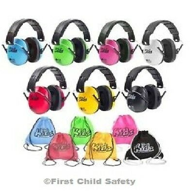 £10.49 Edz Kidz Ear Defender Muffs Kids Childrens Baby Safety Fireworks Autistic