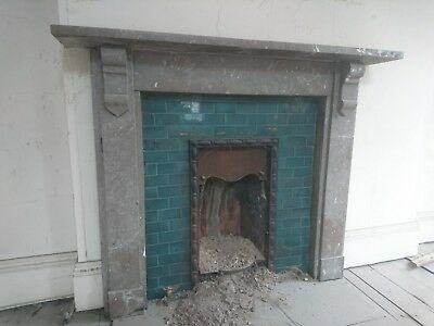 Georgian Early Victorian stone fire place surround antique