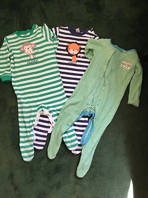 9-12 Months Baby Boys Sleepsuits Next. Please see photos/read description!!!