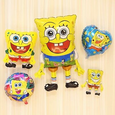 Spongebob Squarepants Patrick Star Foil Plastic Balloon kids toy birthday Party