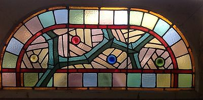 Stained Glass arched glass Panel