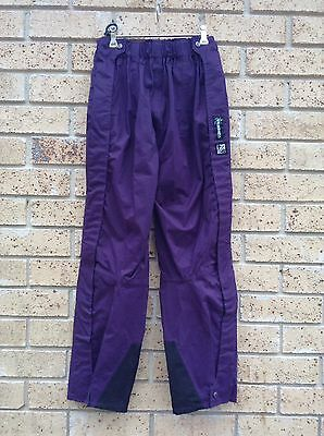 NEW Reflex Wilderness SNOW PANTS N.Z. Womens S, Ski Snow Boarding Purple Thermal
