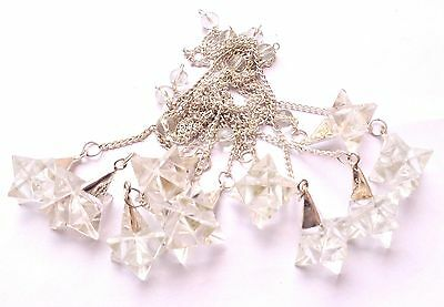 Ten Clear Quartz Merkaba Star Pendulums Gift Crystal Healing Metaphysical Power