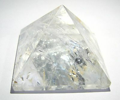 Excellent 78 Grams Quartz Pyramid Crystal Healing Gift Reiki Feng Shui Energy
