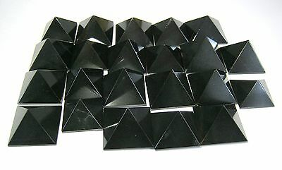 Ten Black Agate Loose Bagua Crystal Healing Feng Shui Energy Fear Psychic Power