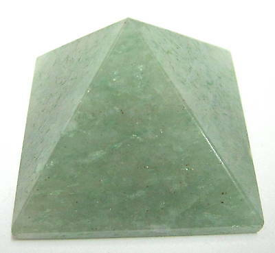 59 Grams Green Quartz Crystal Pyramid Gift Home Office Healing Reiki Feng Shui
