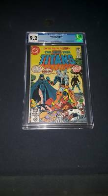 New Teen Titans #2 (1980) CGC 9.2 - 1st Appearance Deathstroke NICE