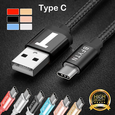 USB C 3.1 Type-C Sync Data Charging Charge Cable Cord for Samsung S8 / Note 8