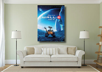 WALL-E Classic Movie Large CANVAS Art Print A0 A1 A2 A3 A4
