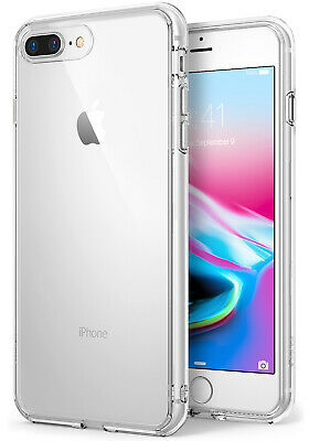 For iPhone 8/8 Plus | Ringke [FUSION] Clear Shockproof Hybrid TPU Cover Case