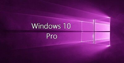 Windows 10 Edition Professionnel - Clé d'activation - 32/64bits