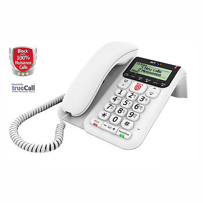 BT Decor 2600 Corded Telephone With Nuisance Call Blocking New DB LIMITED STOCK