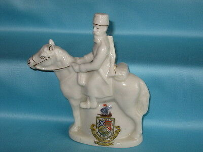 Swan China WW1 Russian Cossack* - HOVE crest