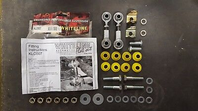 Whiteline Klc007 Front Arb Adjustable Drop Link Kit For Nissan S13 S14 S15 200Sx