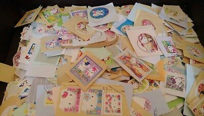 used stamps-1 Packets=3 dif pcs(Japan Sanrio hello kitty series)=US0.99