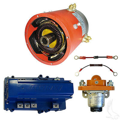 "High Speed Pkg, Motor / Controller Combo for E-Z-Go TXT 36 Volt ""SERIES DRIVE"""