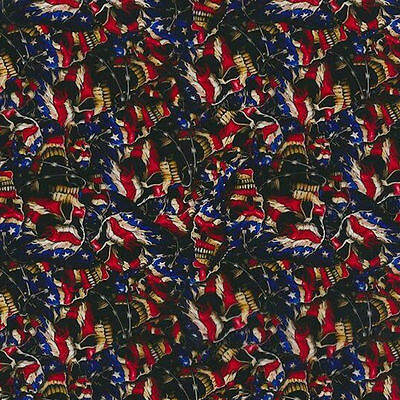 Hydrographic Film Water Transfer Hydro Dip Stars And Stripes Skulls 1M