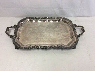FB Rogers Silver Plate Tray 6377