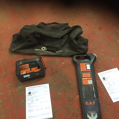 Radiodetection Mk2 Cat And Genny Cable Avoidance Locator Scanner