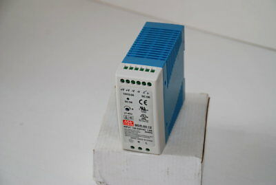 Mean Well MDR-60-12  Din Rail 12VDC @ 5 Amp Power Supply New Boxed  (W2C)