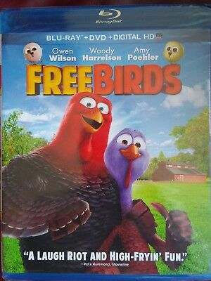 blu ray /free birds movie brand new still in the package