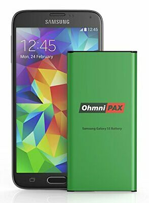 OhmniPax Replacement Battery for Samsung Galaxy S5 2800mAh Li-ion Battery
