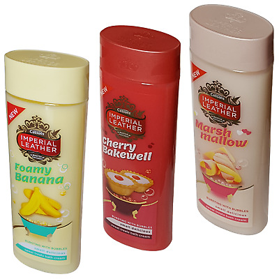 3 x Imperial Leather Sweet Treats 500ml Bath Cream ~ Bursting With Bubbles!