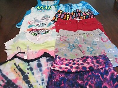 Girls Clothing Size 8 Lot of 10 pieces, Justice