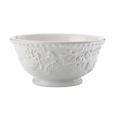 New Maxwell & Williams Euphemia Henderson Footed Bowl 15.5cm White