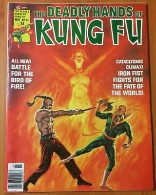 The Deadly Hands of Kung Fu #24 (May 1976, Marvel).  Iron Fist,