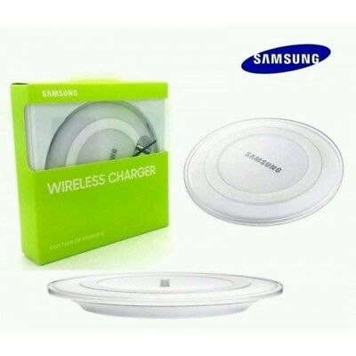 NEW QI Wireless Charger Pad For Samsung Galaxy S6, S6 Edge +, S7, S7 Edge WHITE