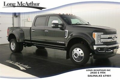 2017 Ford F-450 KING RANCH 4X4 CREW CAB DRW MSRP $82525 VOICE NAVIGATION MOONROOF LEATHER ADAPTIVE STEERING & CRUISE TRAILER TOW CAMERA