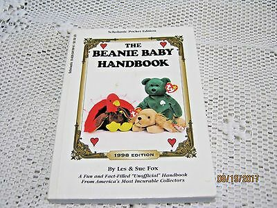 The Beanie Baby Handbook 1998 Scholastic Pocket Edition by Les & Sue Fox