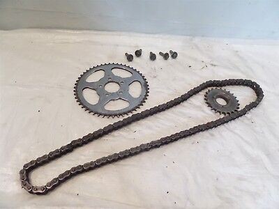 Harley Davidson Sportster 883 & 1200 Rear Chain Driver Conversion Sprocket Set