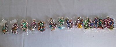 Christopher Radko 12 days of Christmas Little Gems Collection