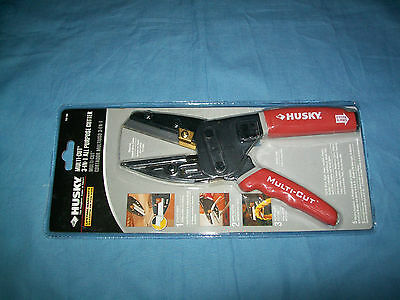 NEW HUSKY MULTI-CUT 3 in 1 All Purpose CUTTER Multi Tool 735 168
