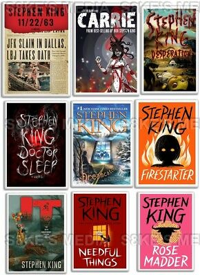 Stephen King Book Fridge Magnet 50mm x 35mm