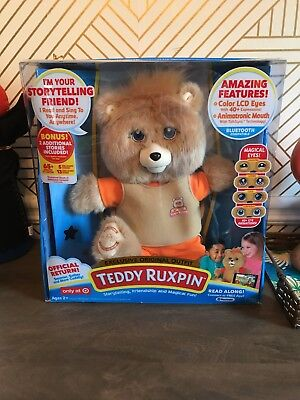 Teddy Ruxpin 2017- Original Outfit - Target Exclusive - Bluetooth Animated Bear